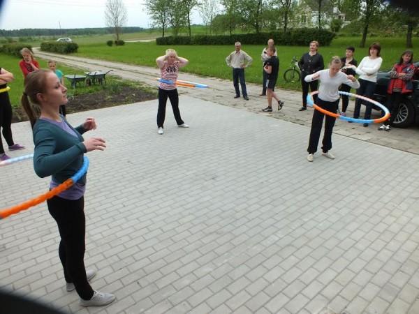 """Sūsninkų kaimo bendruomenė įgyvendino projektą """"Judėk, stiprėk, lieknėk"""""""